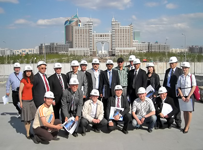 Astana, technical Excursion